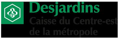 Logo Caisse Desjardins du Centre-est de la métropole